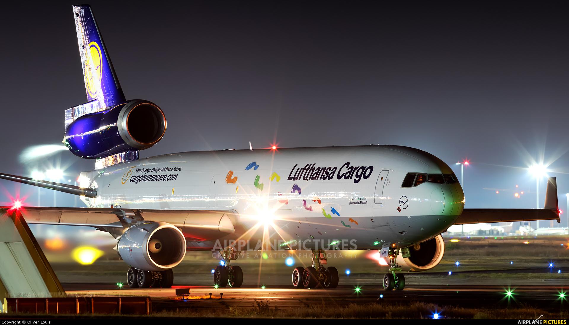 Lufthansa Cargo D-ALCH aircraft at Frankfurt