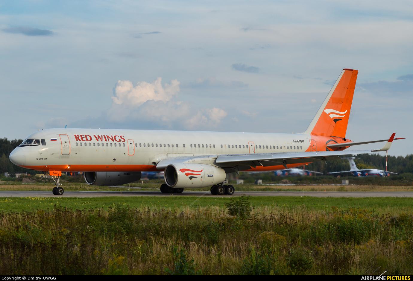 Red Wings RA-64017 aircraft at Nizhniy Novgorod