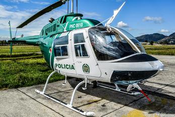 PNC0910 - Colombia - Police Bell 206B Jetranger III