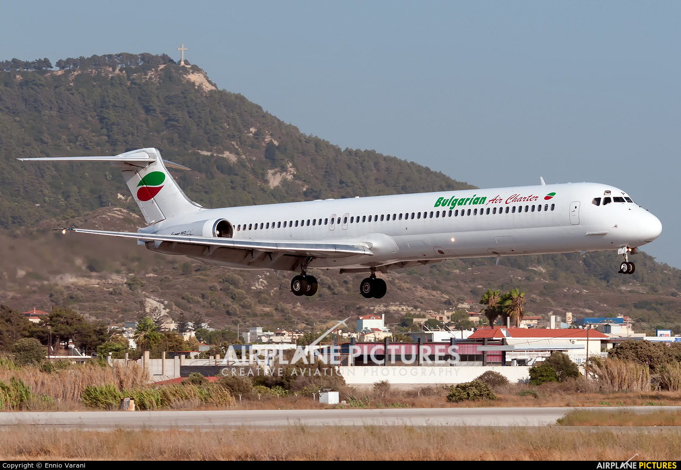 Bulgarian Air Charter LZ-LDP aircraft at Rhodes - Diagoras
