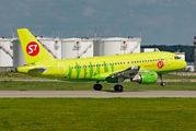 VP-BTV - S7 Airlines Airbus A319 aircraft