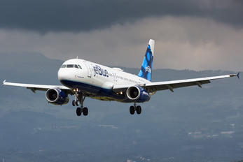 N625JB - JetBlue Airways Airbus A320