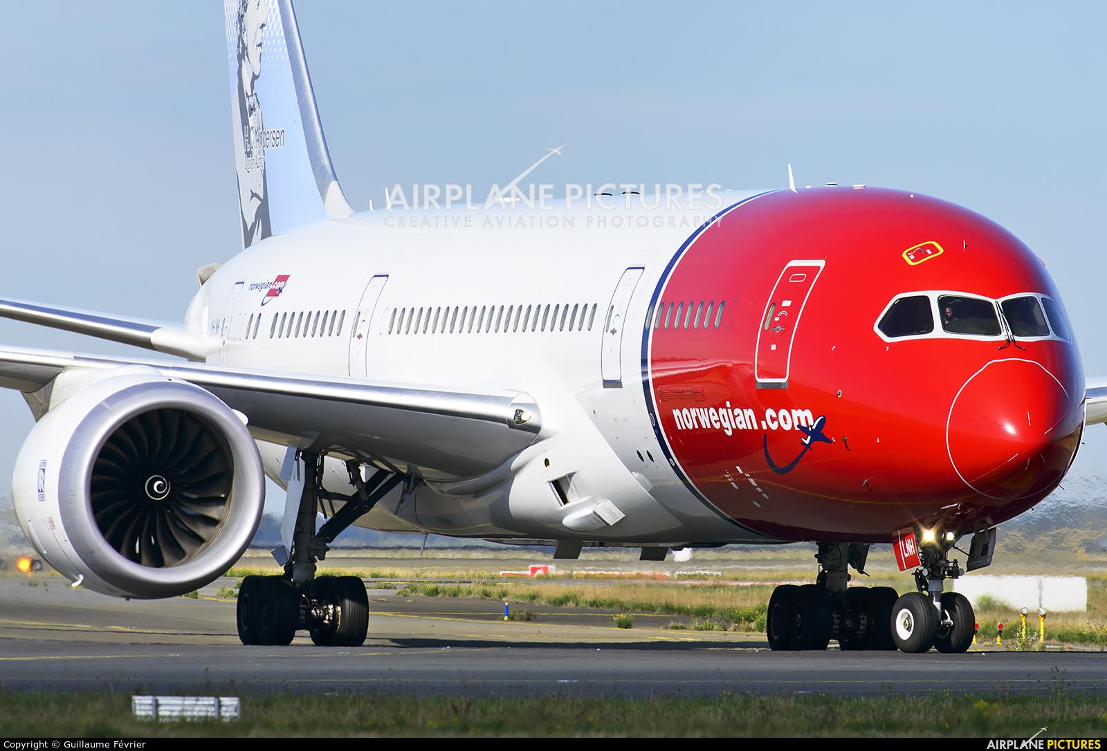 Norwegian Long Haul LN-LNH aircraft at Paris - Charles de Gaulle