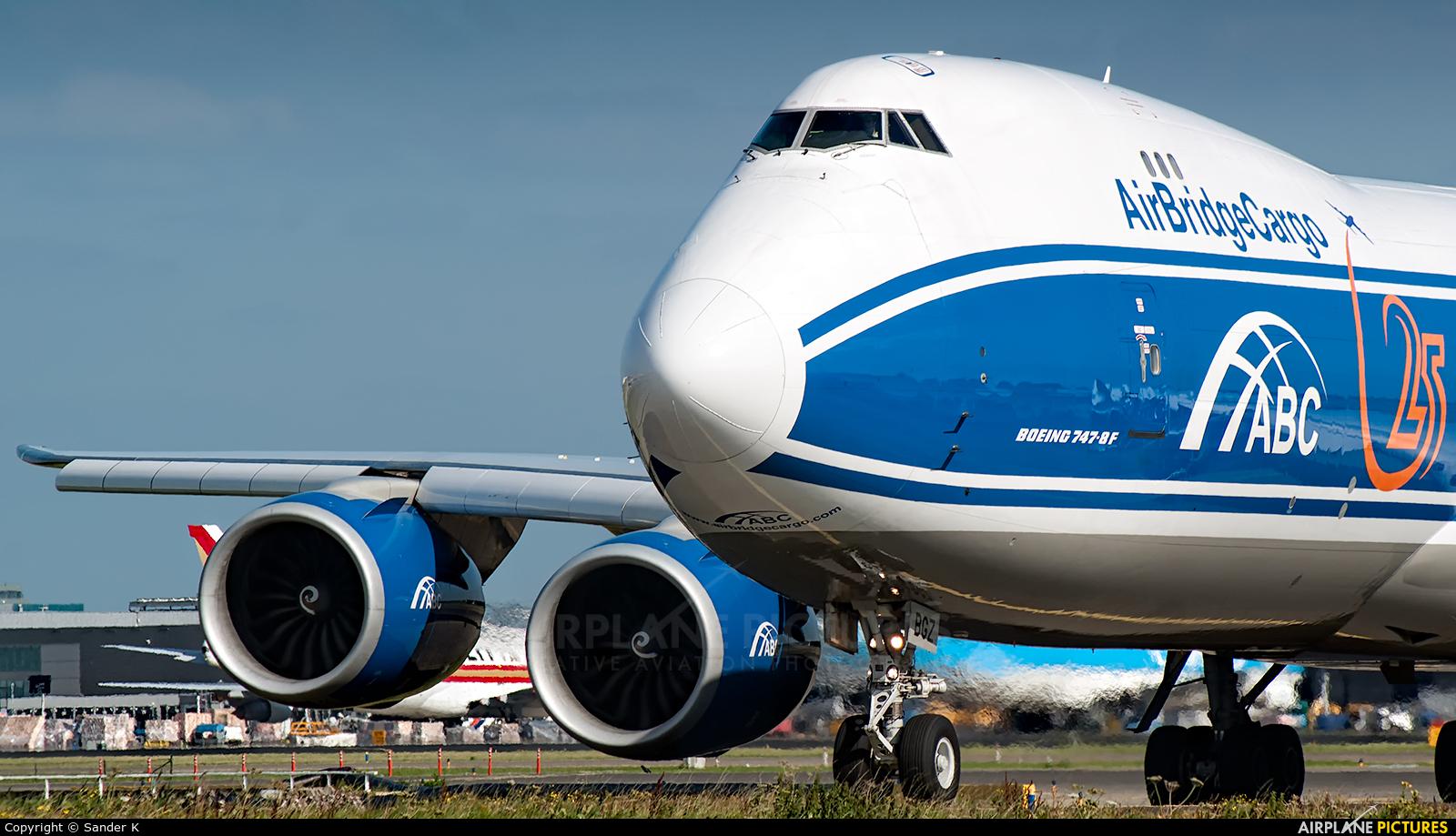 Air Bridge Cargo VQ-BGZ aircraft at Amsterdam - Schiphol