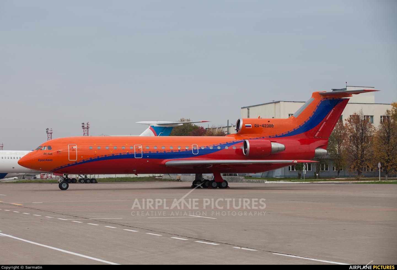 KrasAvia RA-42388 aircraft at Kazan