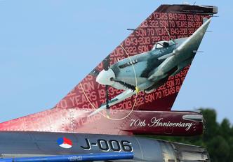 J-006 - Netherlands - Air Force Lockheed Martin F-16AM Fighting Falcon