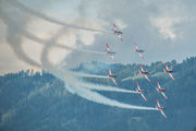 - - Switzerland - Air Force: PC-7 Team Pilatus PC-7 I & II aircraft