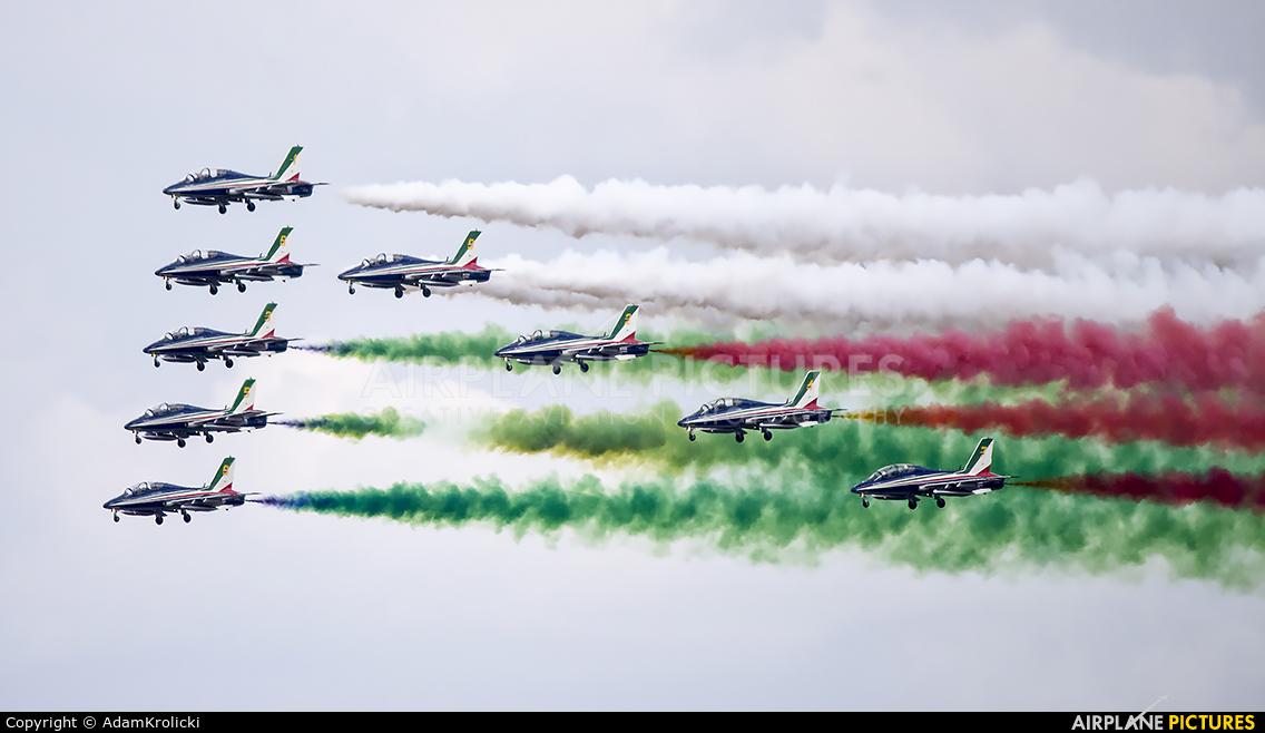 "Italy - Air Force ""Frecce Tricolori"" MM54538 aircraft at Radom - Sadków"