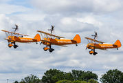 - - Breitling Wingwalkers Boeing Stearman, Kaydet (all models) aircraft