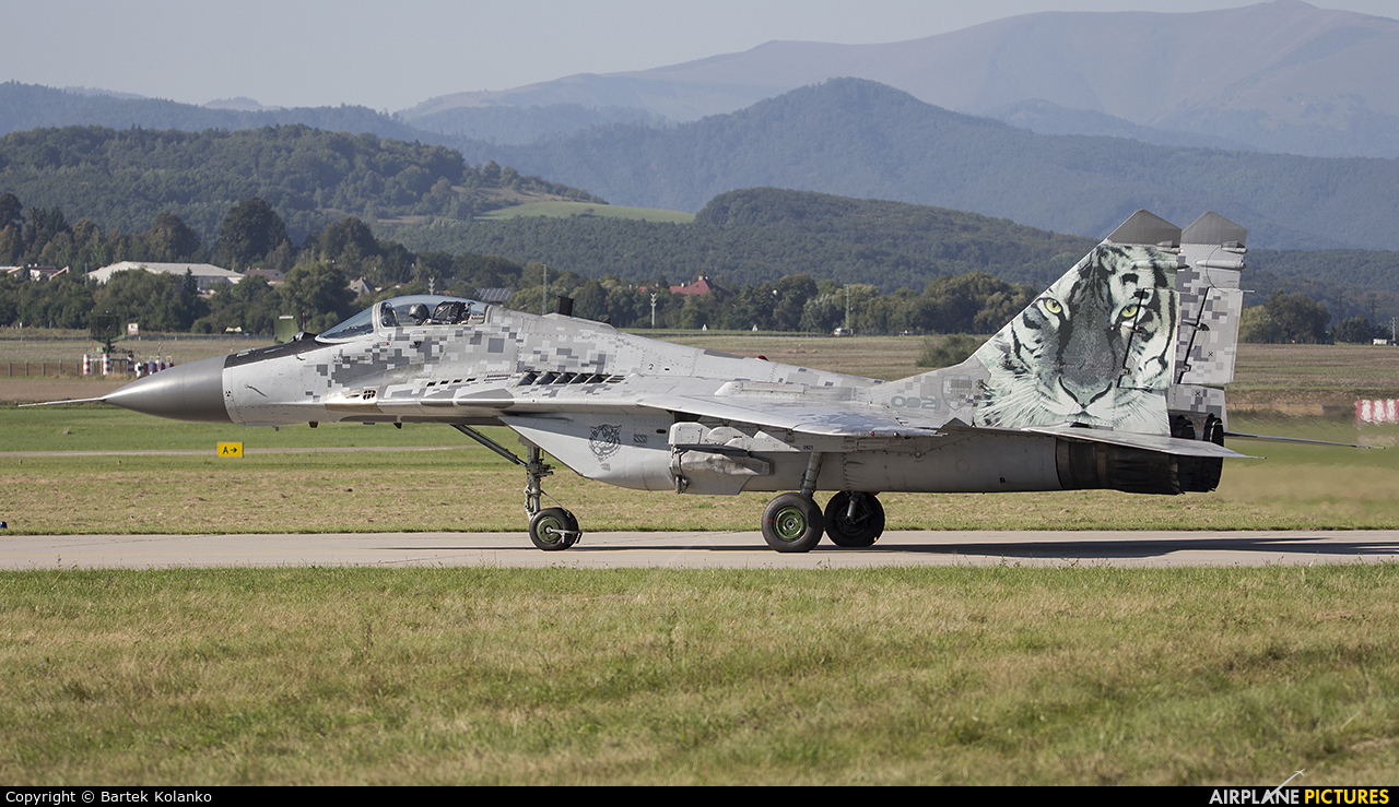 Slovakia -  Air Force 0921 aircraft at Sliač