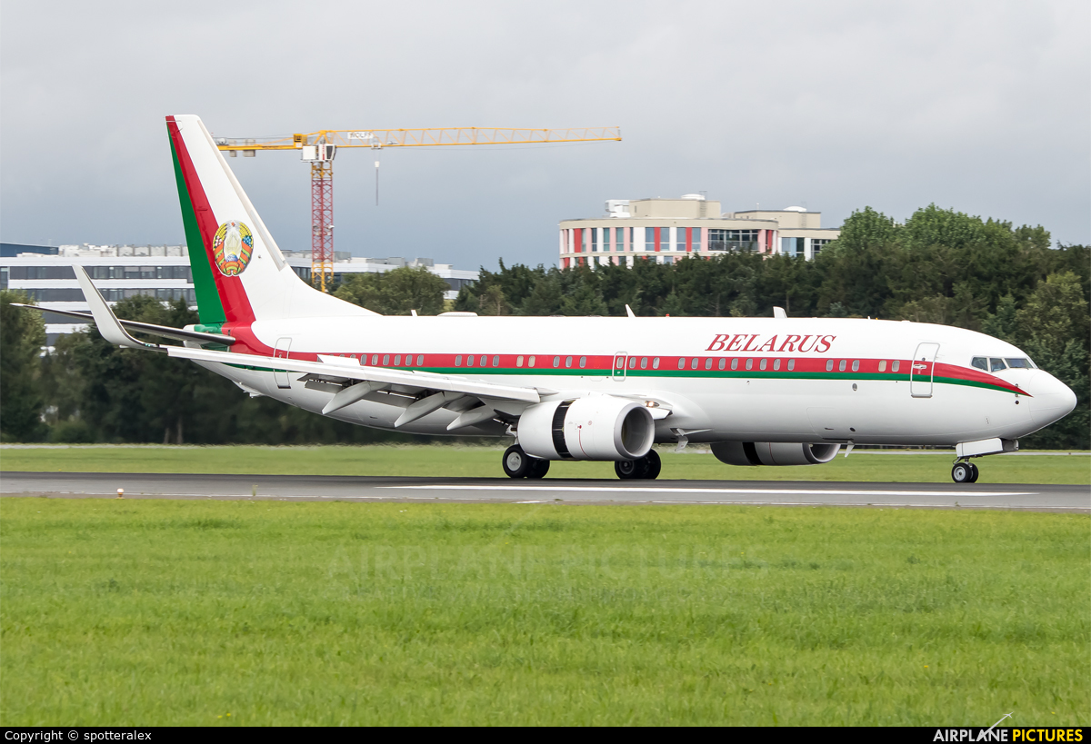 Belarus - Government EW-001PA aircraft at Hamburg - Fuhlsbüttel