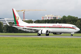 EW-001PA - Belarus - Government Boeing 737-800