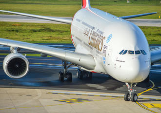A6-EOB - Emirates Airlines Airbus A380