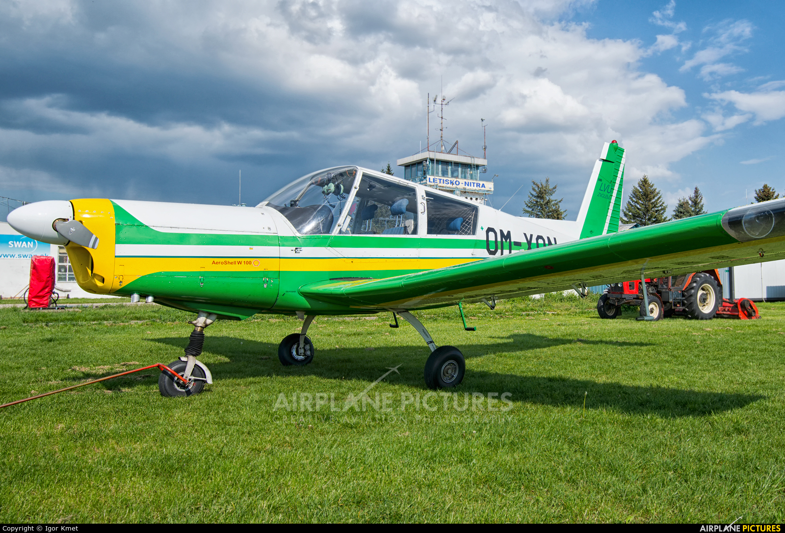 Aeroklub Nitra OM-XON aircraft at Nitra