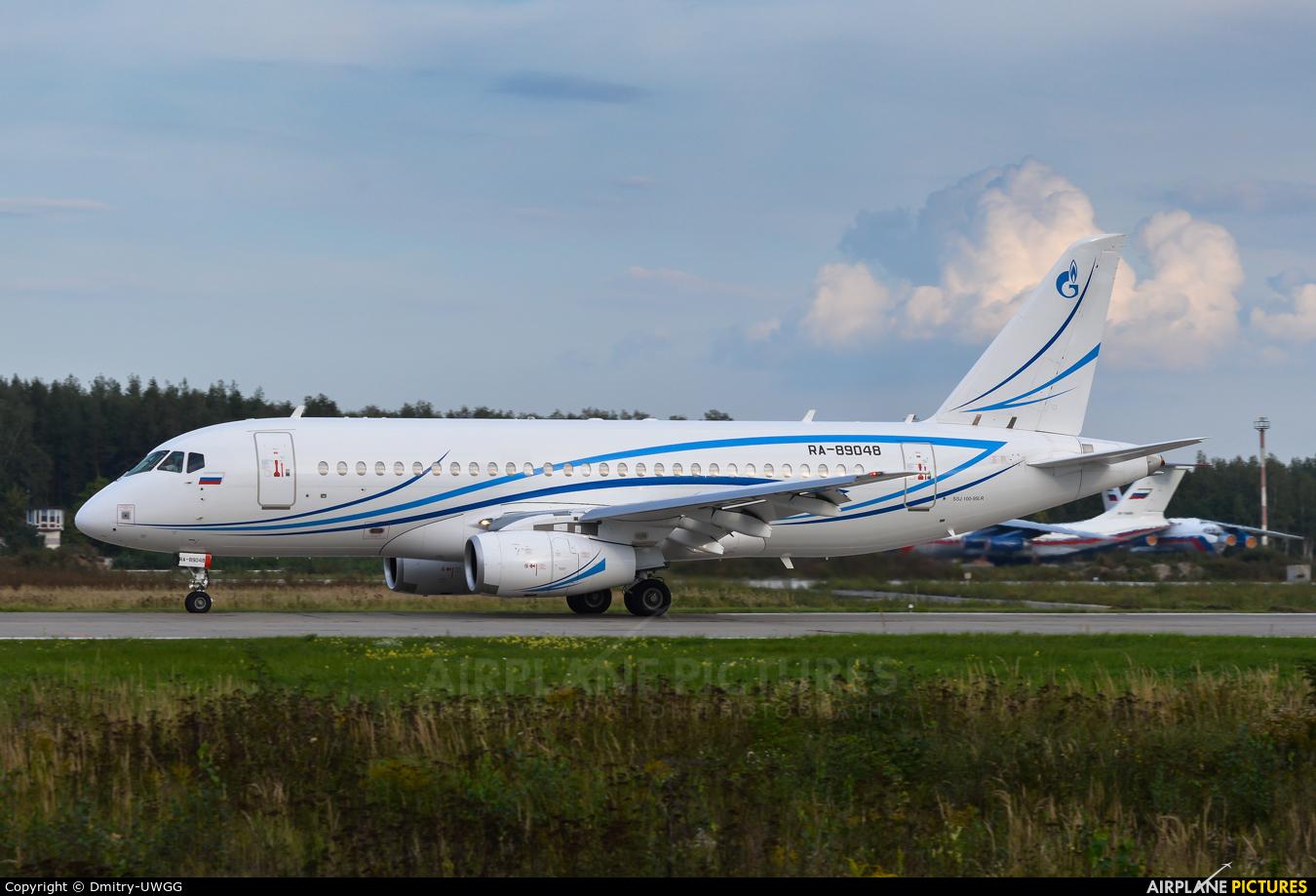 Gazpromavia RA-89048 aircraft at Nizhniy Novgorod