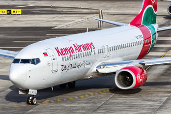 5Y-CYC - Kenya Airways Boeing 737-800