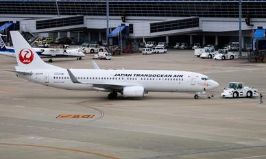 JA02RK - JAL - Japan Transocean Air Boeing 737-800