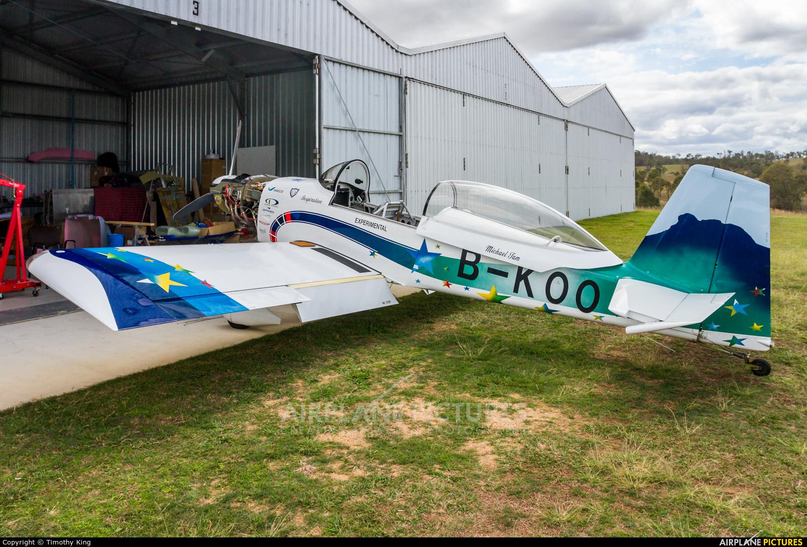 Private B-KOO aircraft at Brisbane, QLD