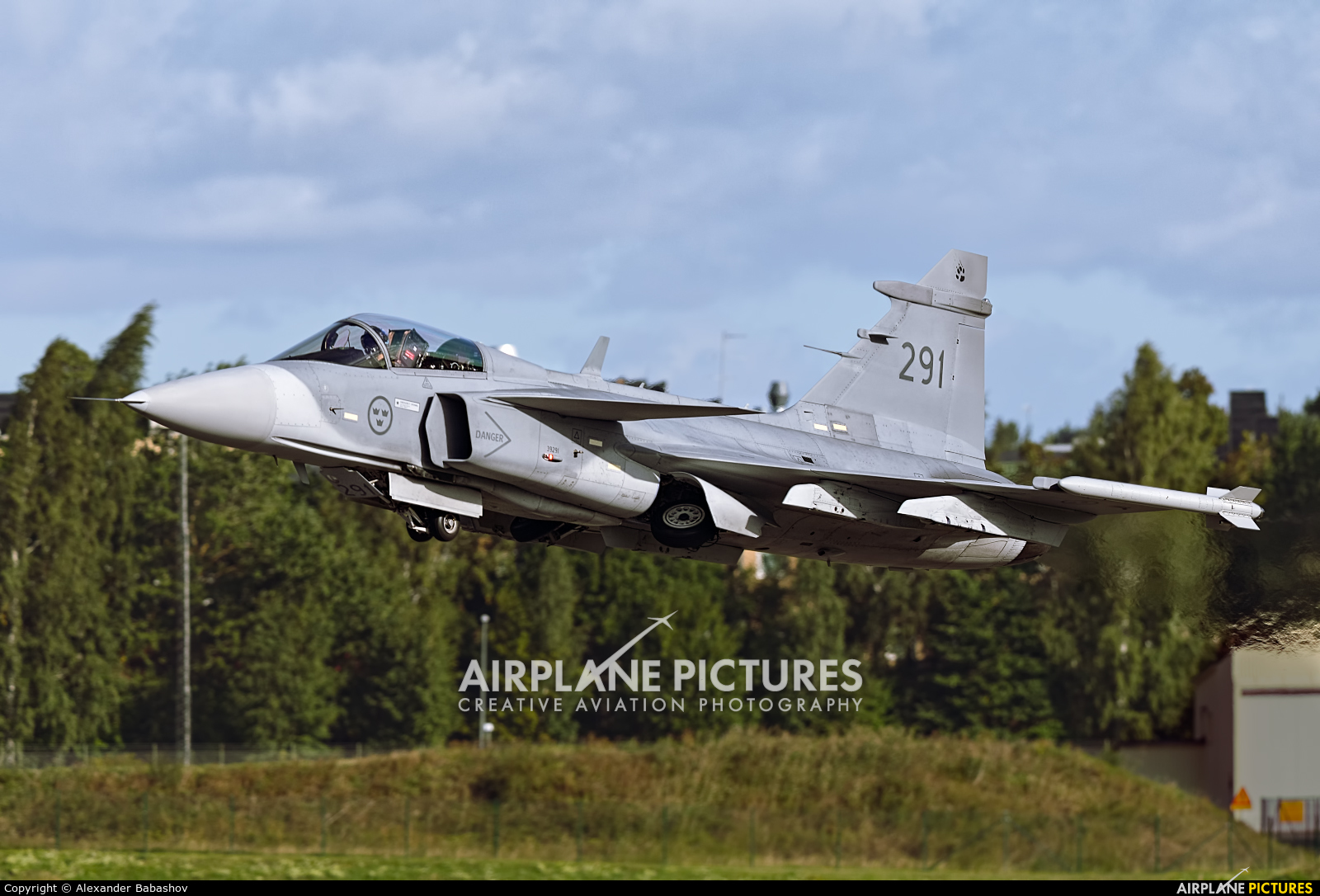 Sweden - Air Force SAAB JAS 39C Gripen 291