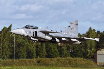 291 - Sweden - Air Force SAAB JAS 39C Gripen