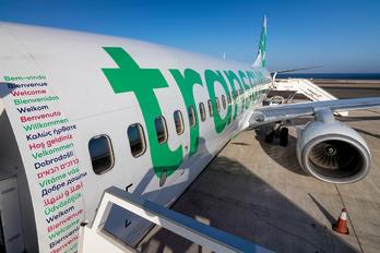 PH-HZI - Transavia Boeing 737-800