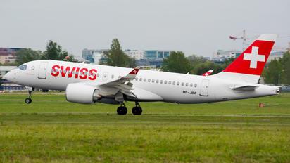 HB-JBA - Swiss Bombardier BD-500 C Series 100