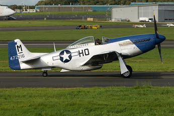 G-BIXL - Private North American P-51D Mustang