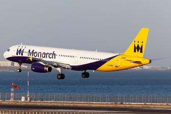 G-OZBO - Monarch Airlines Airbus A321