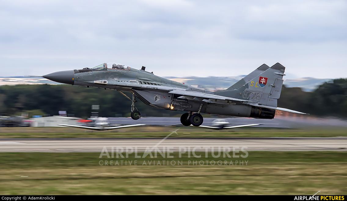 Slovakia -  Air Force 6728 aircraft at Ostrava Mošnov