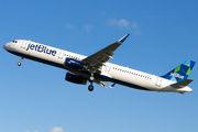 D-AVYJ - JetBlue Airways Airbus A321 aircraft