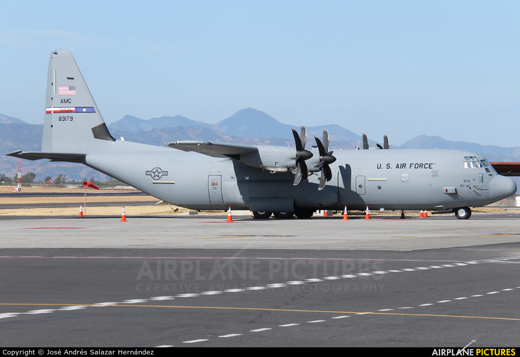 USA - Air Force 08-3179 aircraft at San Jose - Juan Santamaría Intl