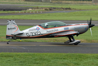 "G-ZXCL - 2 Excel Aviation ""The Blades Aerobatic Team"" Extra 300L, LC, LP series"
