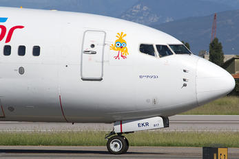 4X-EKR - Sun d'Or International Airlines Boeing 737-800