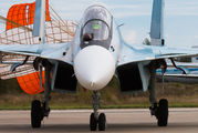 "04 RED - Russia - Air Force ""Falcons of Russia"" Sukhoi Su-30SM aircraft"