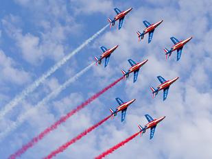 """E122 - France - Air Force """"Patrouille de France"""" Dassault - Dornier Alpha Jet E"""