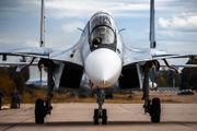 11 RED - Russia - Air Force Sukhoi Su-30SM aircraft