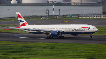 G-STBJ - British Airways Boeing 777-300ER