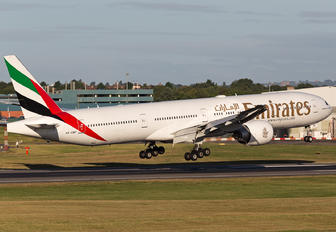 A6-EBF - Emirates Airlines Boeing 777-300ER