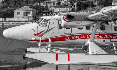 9A-TOE - European Coastal Airlines de Havilland Canada DHC-6 Twin Otter