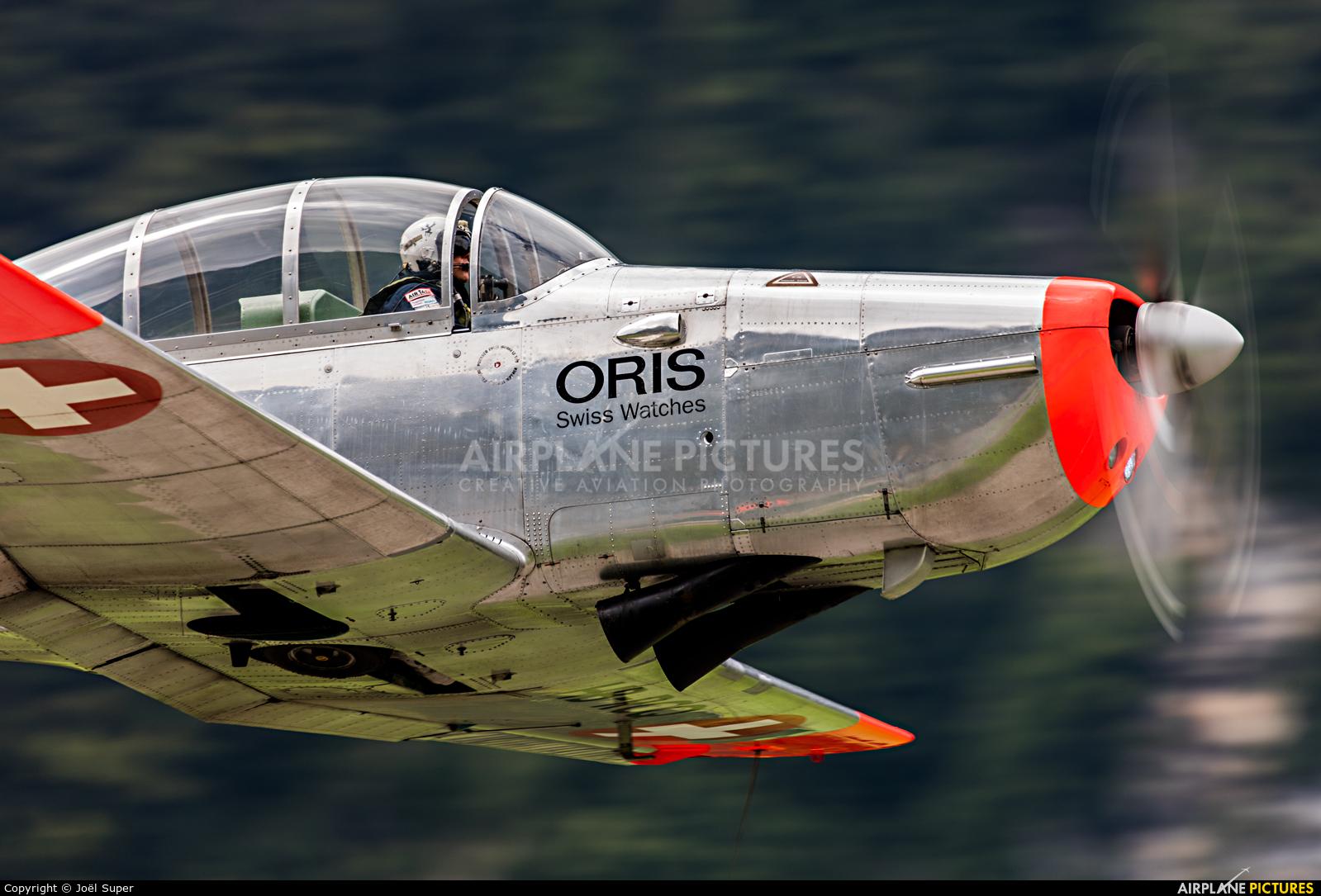 Private HB-RCQ aircraft at Mollis