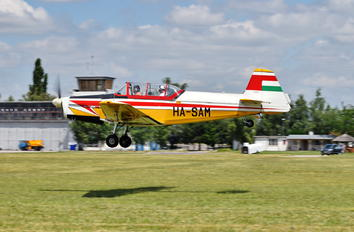 HA-SAM - Private Zlín Aircraft Z-526F