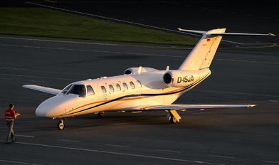 D-ISJA - Private Cessna 525 CitationJet