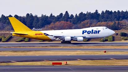 N498MC - Polar Air Cargo Boeing 747-400F, ERF