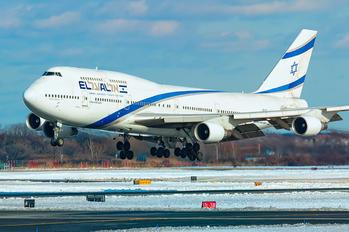 4X-ELC - El Al Israel Airlines Boeing 747-400