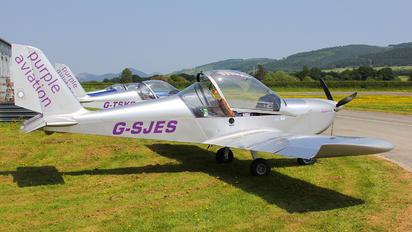 G-SJES - Private Evektor-Aerotechnik EV-97 Eurostar