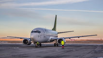 YL-BBD - Air Baltic Boeing 737-500 aircraft