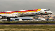 EC-JTS - Air Nostrum - Iberia Regional Canadair CL-600 CRJ-900 aircraft