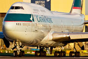 B-HKF - Cathay Pacific Boeing 747-400 aircraft
