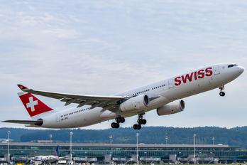 HB-JHG - Swiss Airbus A330-300