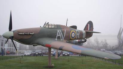 Z3427 - Royal Air Force Hawker Hurricane (replica)